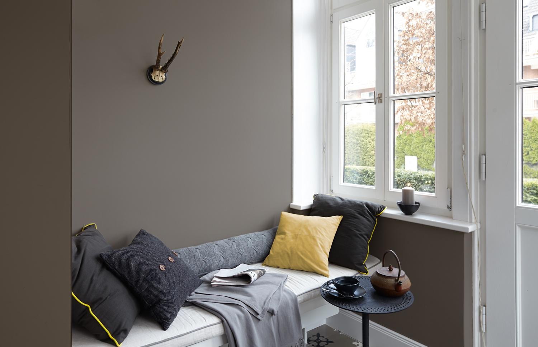 Premium Wandfarbe Grau Dunkelgrau Alpina Feine Farben Starke Der Berge Alpina Farben Baltic