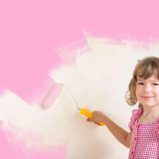 Vaikai valdo - įrenkite vaikų kambarį kartu - Alpina dažai