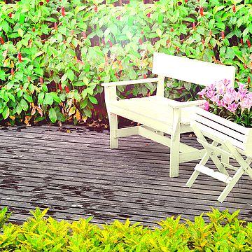 Aia- ja terrassimööbli värvimine