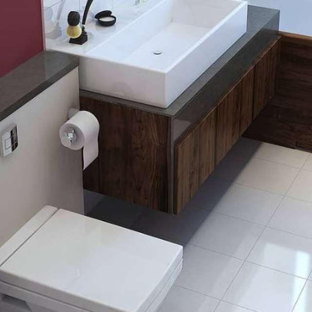 Vannas istaba kļūs par Jūsu labsajūtas oāzi izmantojot pareizos toņus - Alpina Krāsas
