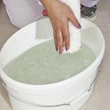 Instrumentu tīrīšana pēc krāsošanas