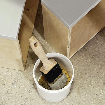 Tööriistade puhastamine pärast lakkimist